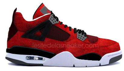 Air Jordan 4 Fire Red Suede Fall 2013 - Air Jordan IV Fire Red Suede 69a50a0cd6