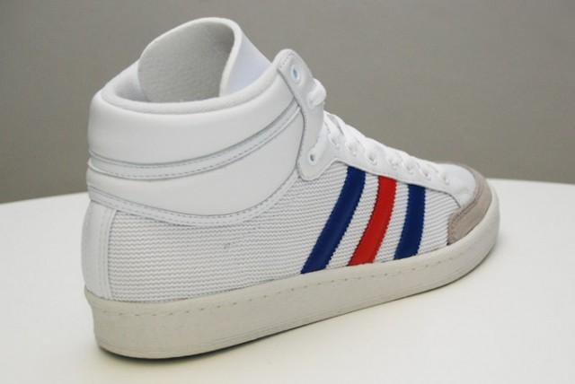 baskets adidas americana hi 88 og blanches