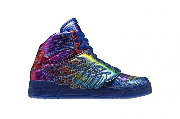 Adidas Jeremy Scott Bleu