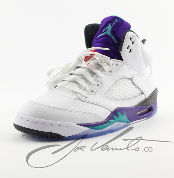 air jordan 5 grape noir