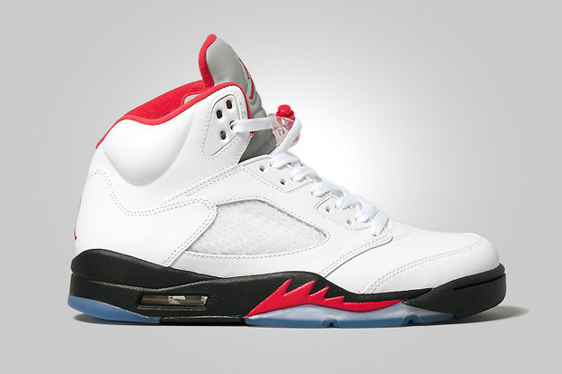 Photos de la Air Jordan 5 Fire Red