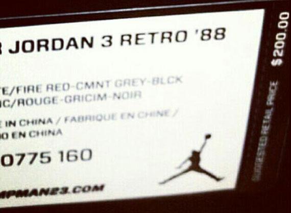 air jordan 3 retro prix