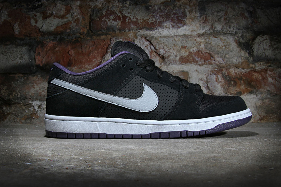 nike dunk low noir