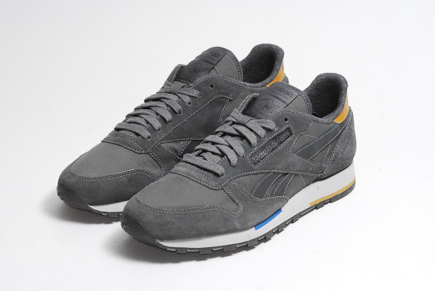 Reebok Classic Leather Suede Bleu