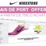 Code Promo Nikestore: livraison gratuite