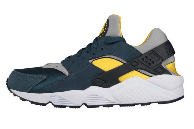 Nike Huarache Noir jaune