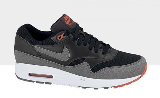 9f7bc0a3cc7a30 Nike Air Max 1 Essential Cool Grey Orange - Le Site de la Sneaker