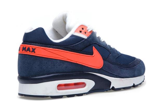 air max bw bleu orange