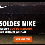 Soldes Nikestore jusqu&rsquo; -30%