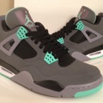 Air Jordan 4 Green Glow