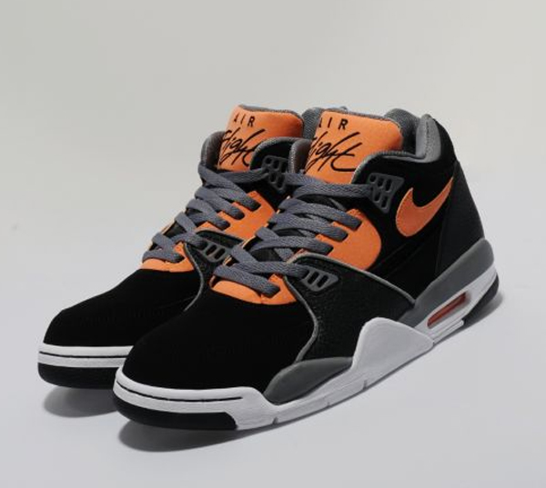 premium selection 93806 01e69 ... nike air flight 89 black orange