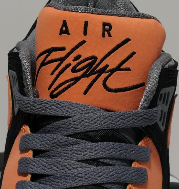 nike air flight 89 orange black