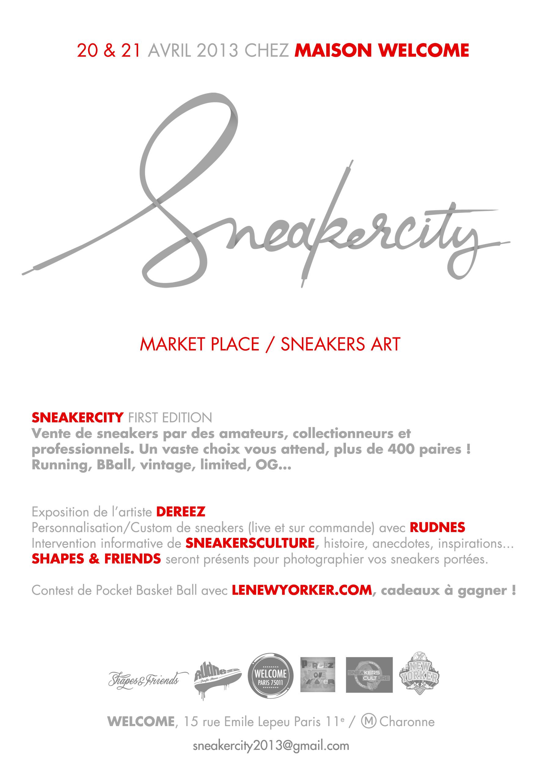 sneakercity paris