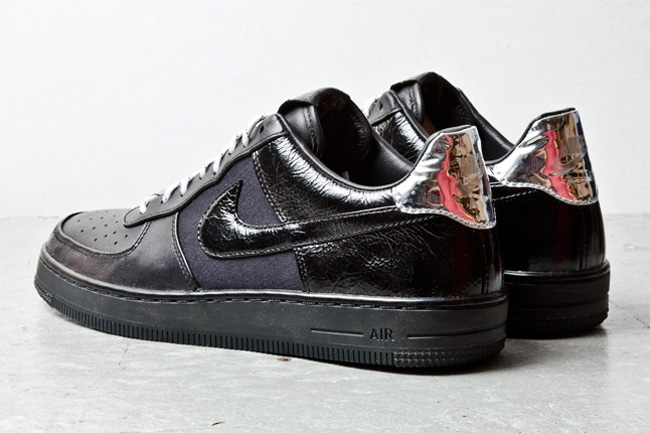 nouveau style 2d559 24532 nike air force one noir brillante - Fundación Alex
