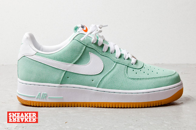 Site la Force Low Le Nike Air Arctic White de Green Gum 1 LRj45A