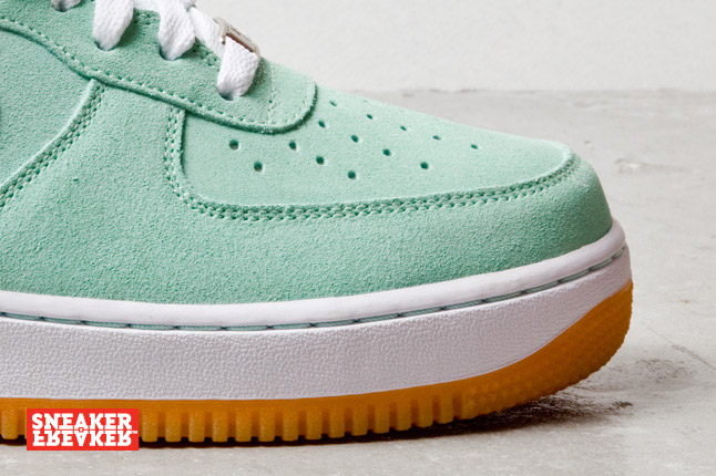Nike Air Force 1 Low Arctic Green White Gum Le Site de la