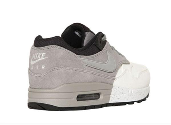 Nike Air Max 1 Premium Grey White Black Le Site de la Sneaker