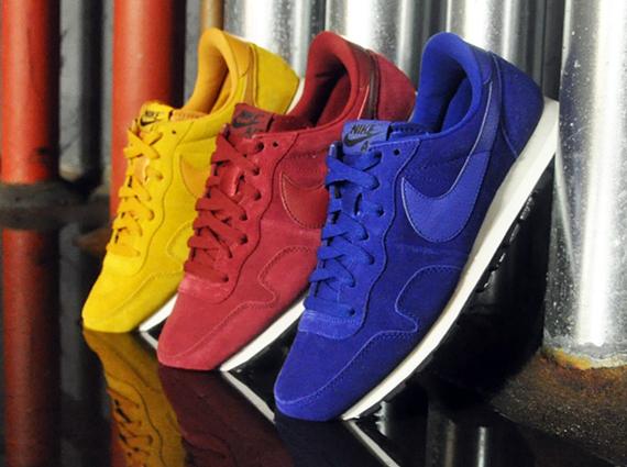 Nike Air Pegasus 83 Suede chaussures bleu jaune