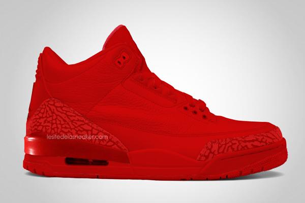 Air Jordan 3 Legends Red October QS