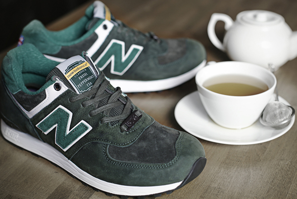 New Balance 576 Made in England Tea Pack