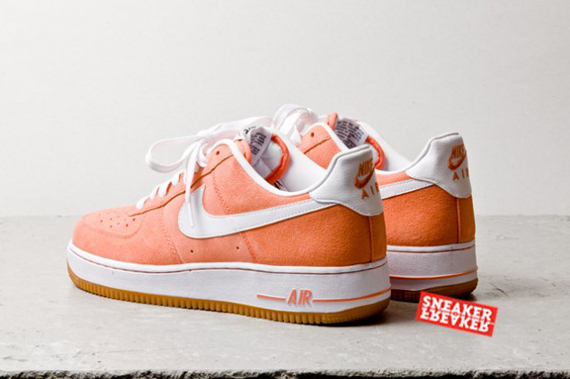 La Force Site De 1 Low Sneaker Nike Le Suede Air Salmon qSzGpUMV