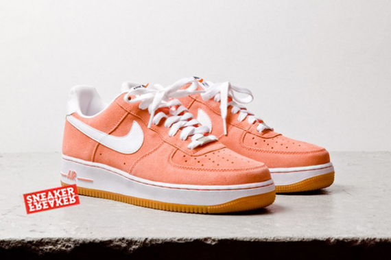 grand choix de ecf16 1ac91 Nike Air Force 1 Low Salmon Suede - Le Site de la Sneaker