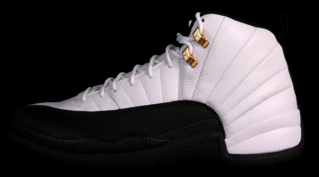 Air Jordan 12 Retro; Style: 130690-125; Coloris: White/Black-Taxi; Date de  sortie: 14/12/13