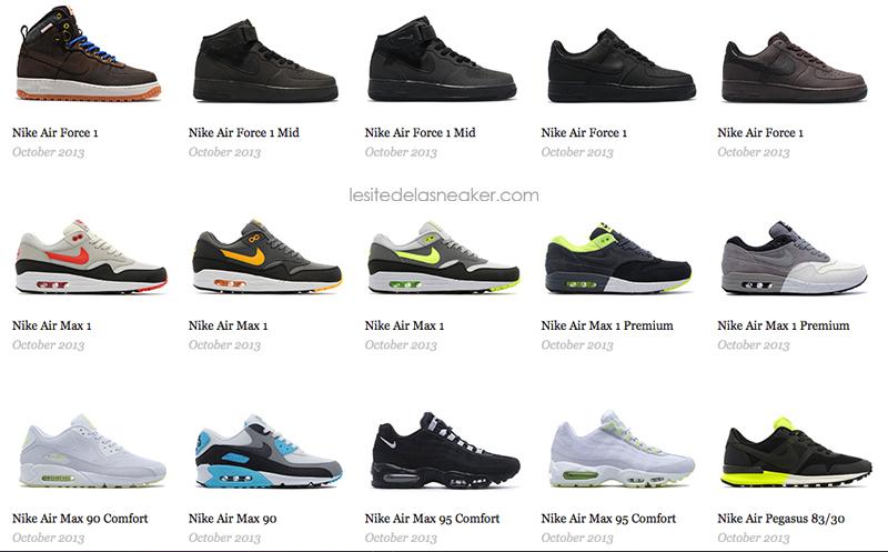 nike releases septembre octobre 2013 le site de la sneaker. Black Bedroom Furniture Sets. Home Design Ideas