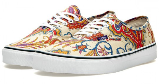 Vans Era & Authentic x Liberty Of London | Chaussure