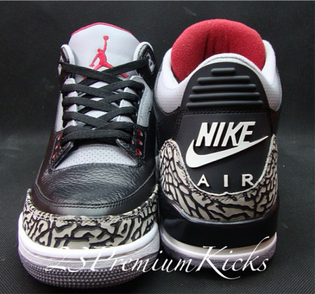 air jordan 3 retro 88 black cement
