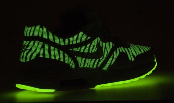Nike Air Max 90 Premium Tape Glow in the Dark Red
