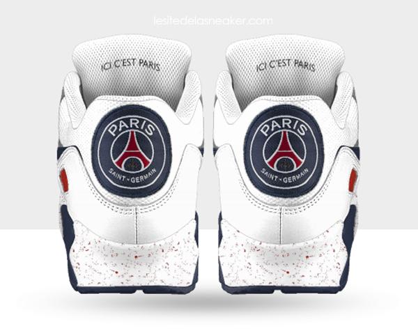 2014 Nike Fr NIKEiD 90 Chausport PSG Max Bolg Sneaker Air qfCXpnwgIx
