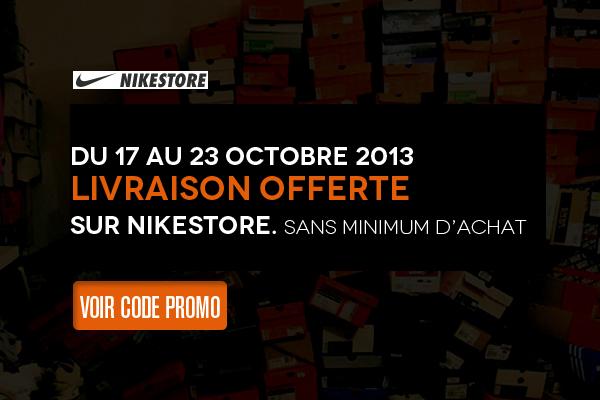 Code promo livraison gratuite sur nikestore le site de la sneaker - Code livraison gratuite vertbaudet ...