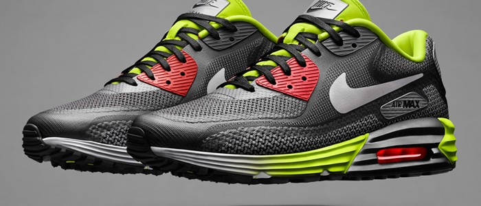 Nike Air Max Lunar90 Infrared White Black Red
