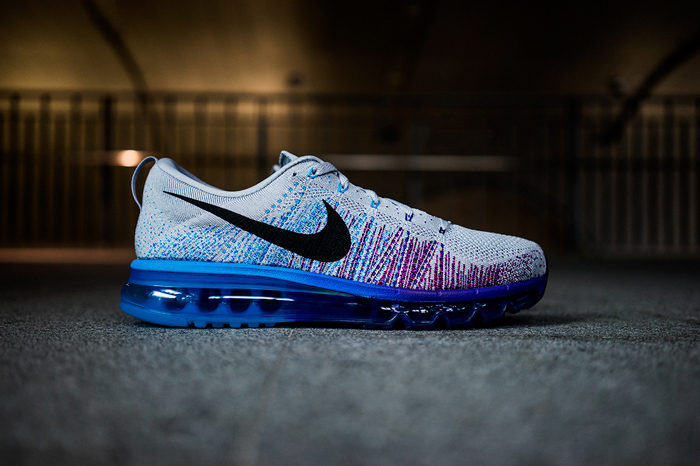 the best attitude 59524 30342 nike air max flyknit bleu