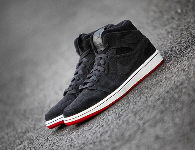 air jordan 1 black red