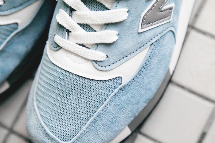 new balance bleu gris femme