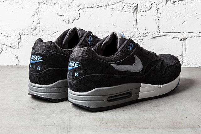 tout neuf 8547b 75968 Nike Air Max 1 Premium Black 'N' Blue - Le Site de la Sneaker