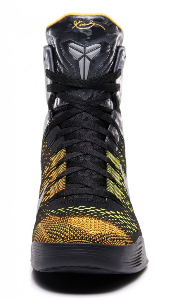 La Nike Kobe 9 Elite    Inspiration    est dot  233 e d   un dessus en    Kobe 9 Elite Inspiration On Feet