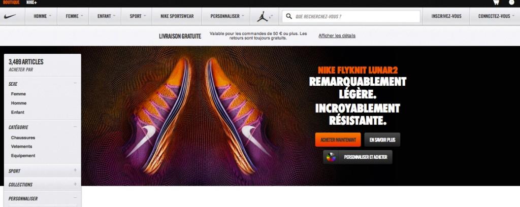 Code promo nikestore livraison offerte le site de la sneaker - Code livraison gratuite vertbaudet ...
