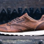 reebok classic leather lux brown