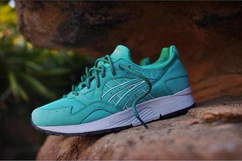 ronnie fieg asics gel lyte V 5 mint