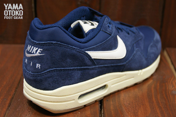 official photos 167ad 895db nike air max 1 essential navy suede 4. nike air max 1 blue suede kopen