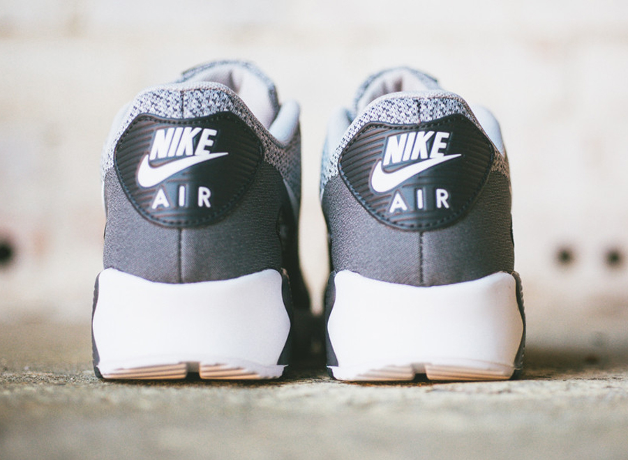 nike air max 90 jacquard wolf grey / platinum / anthracite