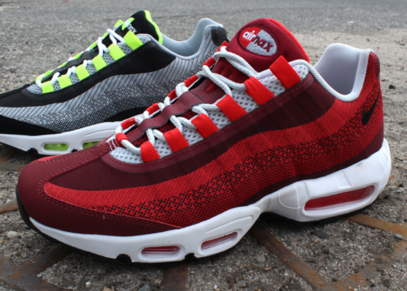 delicate colors low cost cute cheap Nike Air Max 95 Wolf Grey Red minmage.nu