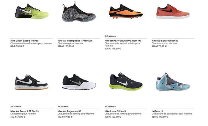 nike destockage le site de la sneaker. Black Bedroom Furniture Sets. Home Design Ideas