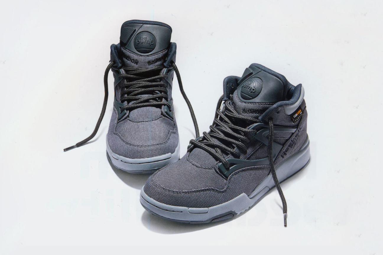 reebok pump omni lite cordura grey automne 2014 le site de la sneaker. Black Bedroom Furniture Sets. Home Design Ideas