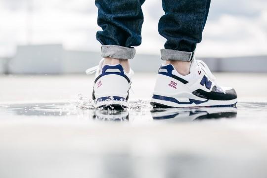 new balance 530 bleu et blanc