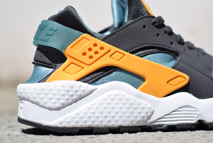 Nike Huarache Grise Orange