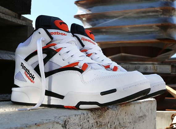 reebok pump omni lite og white black orange date de sortie release date. Black Bedroom Furniture Sets. Home Design Ideas